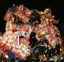 南砺市福野夜高祭り喧嘩