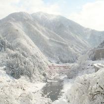 【ラウンジからの景色】冬景色