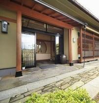 玄関の外観