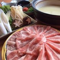 飛騨ロッセ豚ごま豆乳鍋