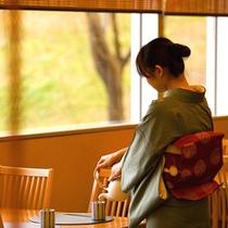 ゆったりと寛げる日本料理「竹翠」