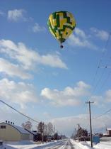熱気球(フリーフライト 冬期限定)