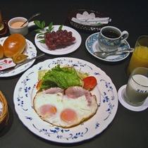 *ご朝食例(洋食)※写真一例