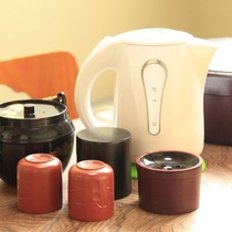 客室備品(お茶セット)