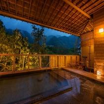 ◆露天風呂夜◆