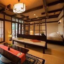 ◆露天風呂付客室「風のいざない」◆