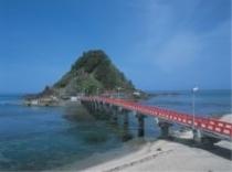 白山島の桟橋
