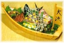 刺身の舟盛り