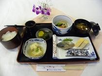 朝食(和定食その1)