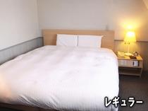 レギュラールーム(163cmか180cmのサータベッド使用)