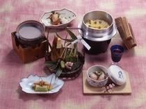 春の会席料理