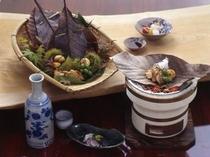 秋の会席料理