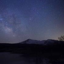 *高原リゾートだから見られる満天の星空