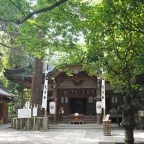 八百冨神社(本殿)