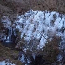 尾の内渓谷の氷柱(1月中旬〜2月中旬)お車で約20分