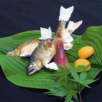 ほくほくの川魚