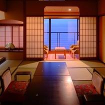 純和風客室の一例