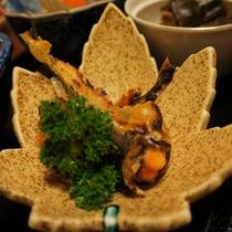 焼き魚の一例 ※冬の味覚ハタハタ