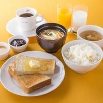 朝食(和洋共通)お替り自由♪