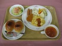 朝定食例(洋風)