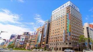 東横イン札幌すすきの交差点施設全景