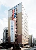 東横イン武蔵中原駅前施設全景