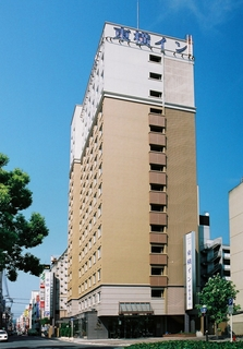 東横イン広島平和大通施設全景