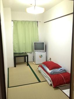 ◆男性専用 和室 タオル・歯ブラシ付 1600〜1800円