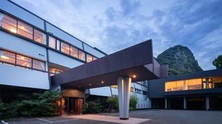 武雄温泉 御船山楽園ホテル(旧 御船山観光ホテル) 施設全景