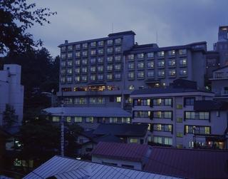 草津温泉 ホテルおおるり施設全景