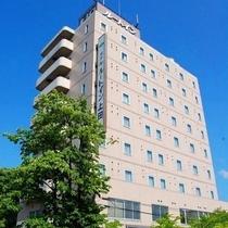 ホテルルートイン上田−国道18号−施設全景