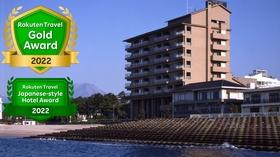 皆生温泉 湯喜望 白扇(2020年3月高層階をリニューアルオープン)施設全景