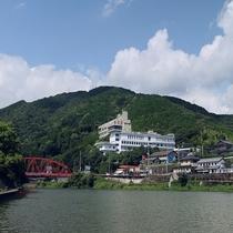 佐賀・川上峡温泉 ホテル龍登園施設全景