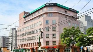 アパホテル<札幌すすきの駅西>施設全景