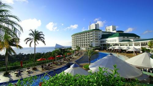 沖縄かりゆしビーチリゾート・オーシャンスパ施設全景