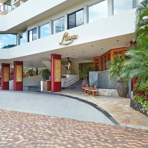 luana waikiki hotel and suites. Black Bedroom Furniture Sets. Home Design Ideas