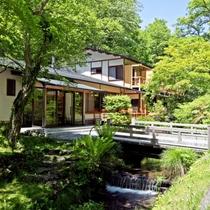 小瀬温泉ホテル施設全景