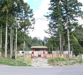 にこにこ村の森の宿施設全景
