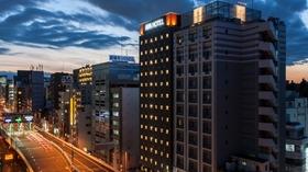 アパホテル<上野駅北>(全室禁煙)施設全景