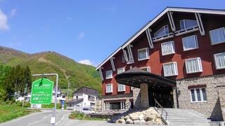 白馬姫川温泉なごみの湯 ホテルアベスト白馬リゾート施設全景