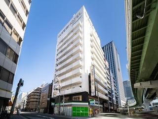 スーパーホテルLohas地下鉄四つ橋線・本町24号口施設全景