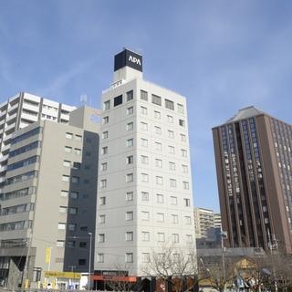 アパホテル<水戸駅前>施設全景