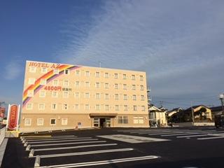 HOTEL AZ 大分三重店施設全景