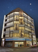 global cabin 東京五反田(ドーミーインチェーン)施設全景