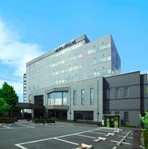松本駅に一番近いシティーホテル ホテル モンターニュ松本施設全景