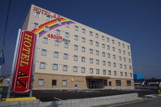 HOTEL AZ 香川東かがわ店施設全景
