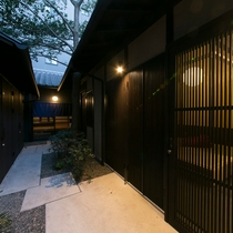 一軒町家 さと居 大宮五条 青柿(SEISHI)施設全景