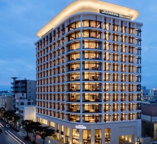 JR九州ホテル ブラッサム那覇施設全景