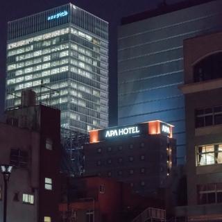 アパホテル<秋葉原駅電気街口>(2017年8月28日オープン)施設全景