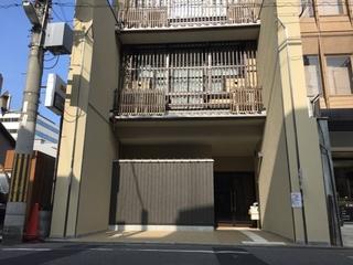 鯉山町ゲストハウス施設全景